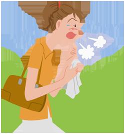 花粉症を予防しましょう