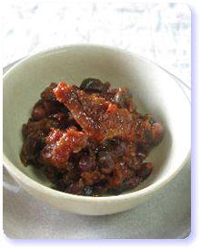 妊娠力アップ!黒豆とチキンのトマト煮