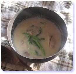 妊娠力アップ!牡蠣とコーンのミルクスープ
